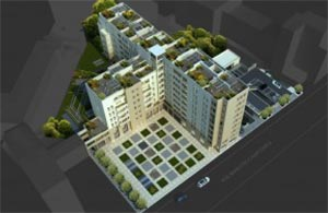 Complesso residenziale a MIlano