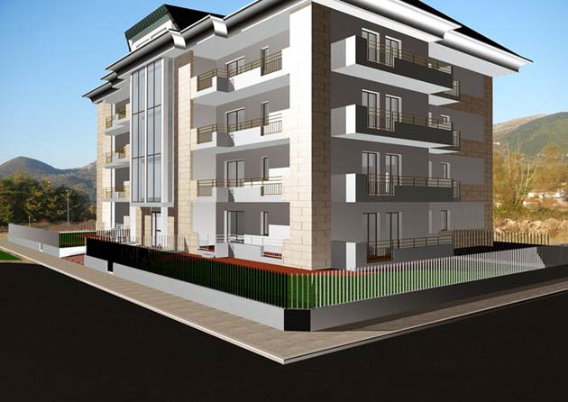L arch frattaruolo progetta un complesso residenziale a for Progetta i tuoi progetti gratuitamente
