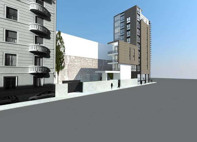 Ferreri costruzioni realizza un edificio polifunzionale a for Edificio a 3 piani