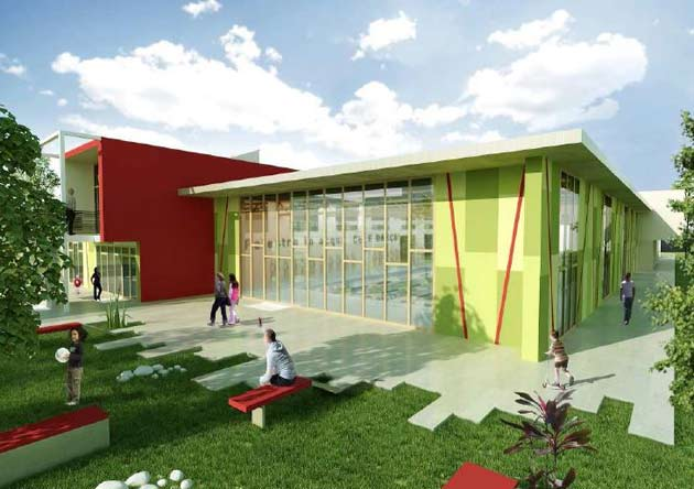 Bando per il nuovo centro natatorio a Jerago con Orago