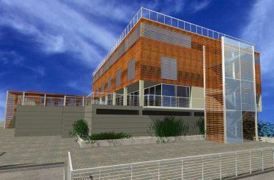 nuovo edificio polifunzionale a Finale Ligure