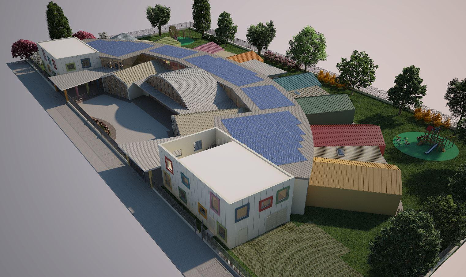 spesso Nuova scuola materna a Bagnolo Mella | Niiprogetti.it GM48
