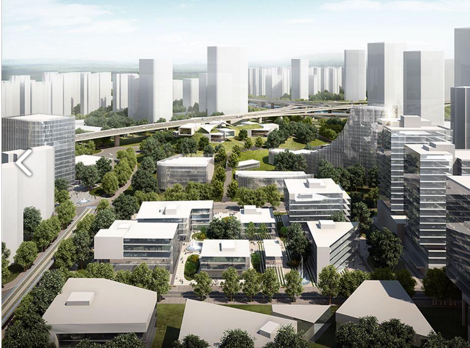 Cmr progetta nuovo polo urbano polifunzionale in cina for Progetta i tuoi progetti gratuitamente