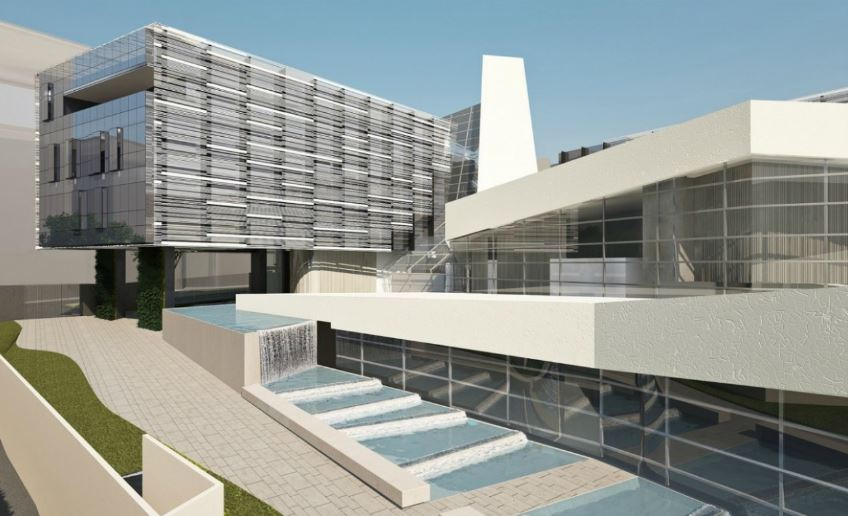 Tecnologia nps per la nuova sede aziendale angelini a roma for Centro uffici roma