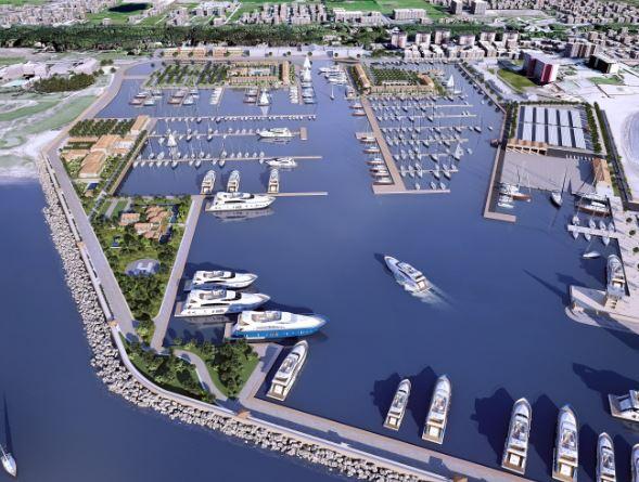 Mirabella Pinetamare Sta Realizzando Il Porto Turistico A