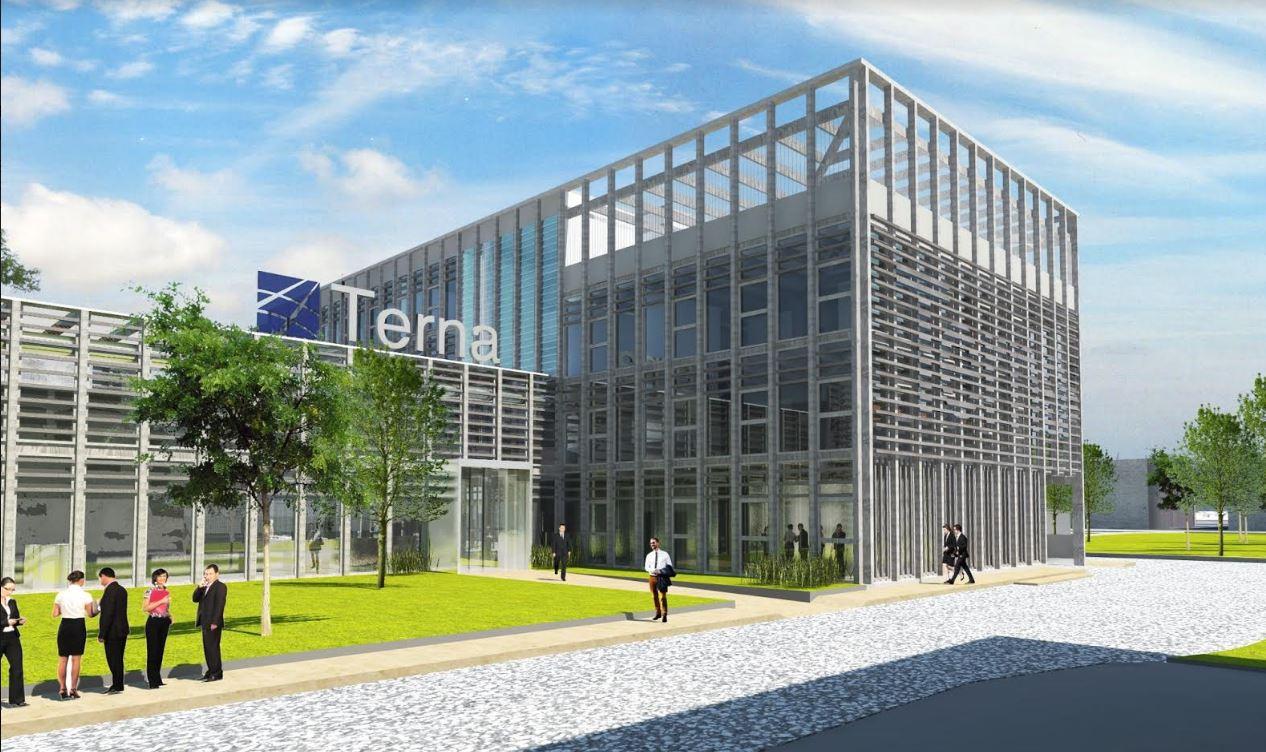 Struttura ecosostenibile per la nuova sede Terna SpA ...