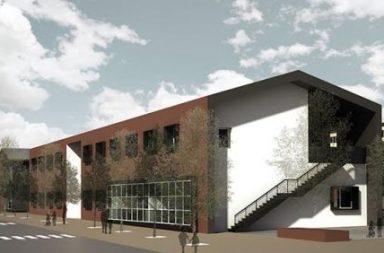 edificio scolastico Caldarola