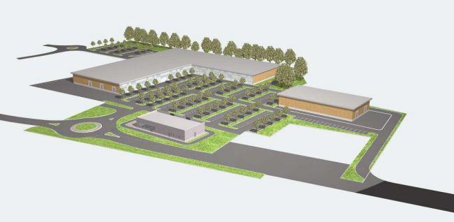 Centro ricerche piani e progetti firma piano di for Piccoli piani di progettazione di edifici commerciali