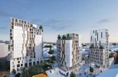 Torre residenziale per 60 alloggi Torino