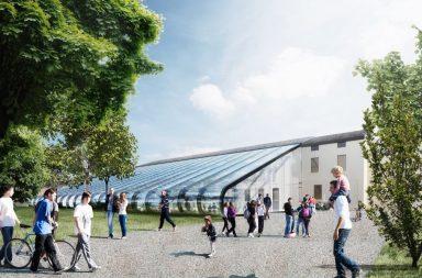 Migliaia di barattoli di vetro per il nuovo stabilimento della Mutti a Parma