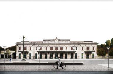 Lo studio Colombo/Molteni larchs e la riqualificazione del piazzale della stazione di Belluno