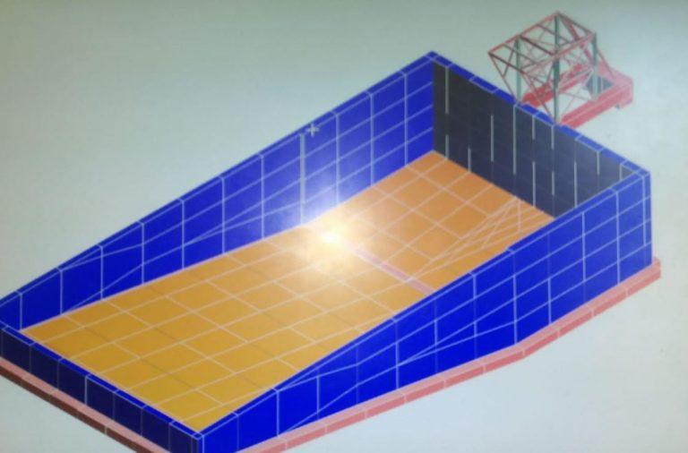 Safety Total System Marine Group realizza piscina per corsi di addestramento a Ortona