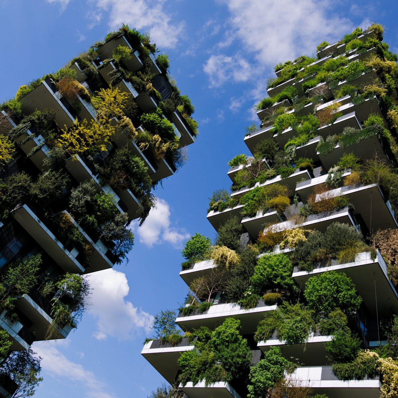 La green architecture del Bosco Verticale
