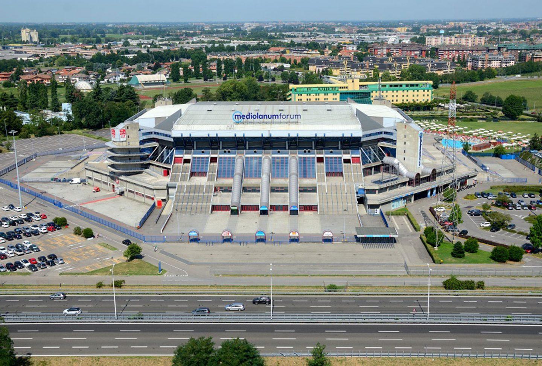 Il palazzo dello sport: Mediolanum Forum