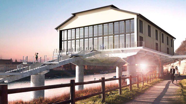 Riqualificazione dell'edificio dell'Idroscalo di Pavia