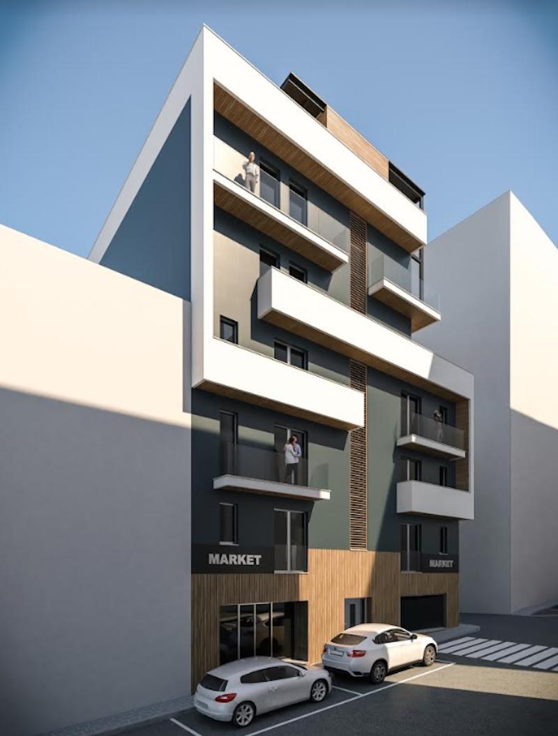 Progetto residenziale HAB_01 a Salerno - Niiprogetti.it
