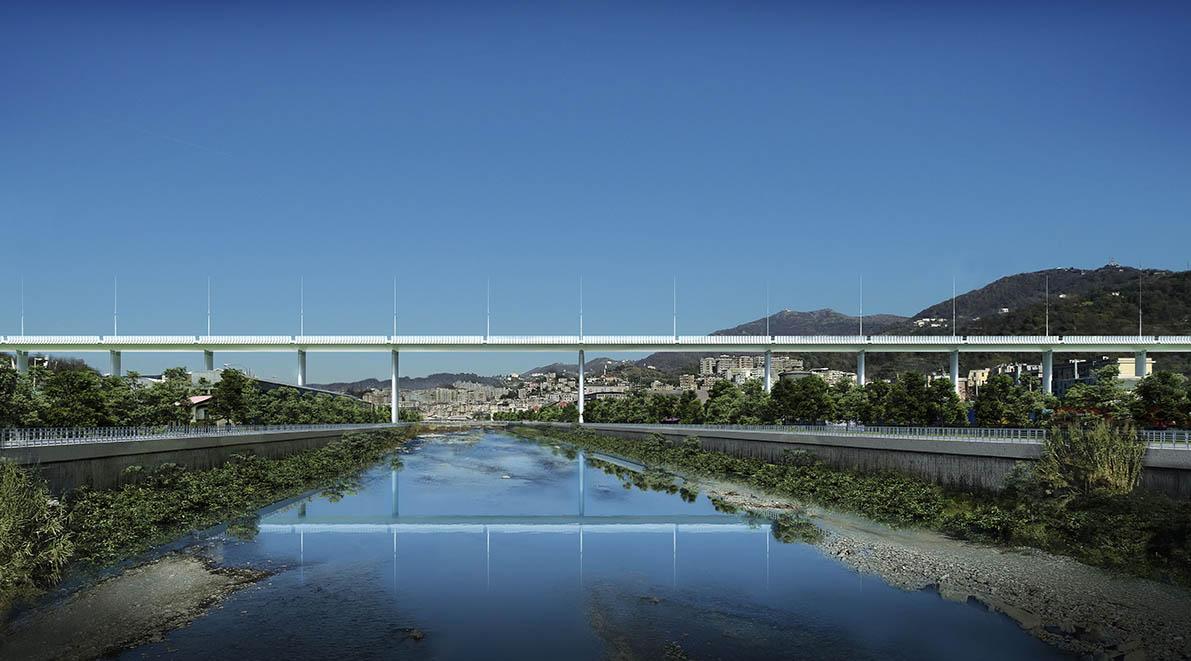 Il nuovo Ponte per Genova