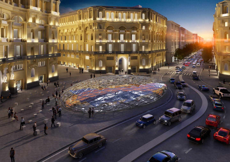 La stazione più bella della Metropolitana di Napoli