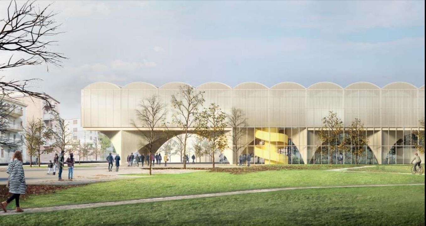 La nuova biblioteca di Milano