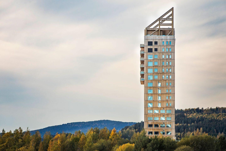 Il grattacielo in legno più alto del mondo