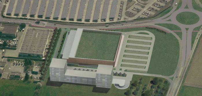 Edifici residenziali e spazi commerciali a Monza
